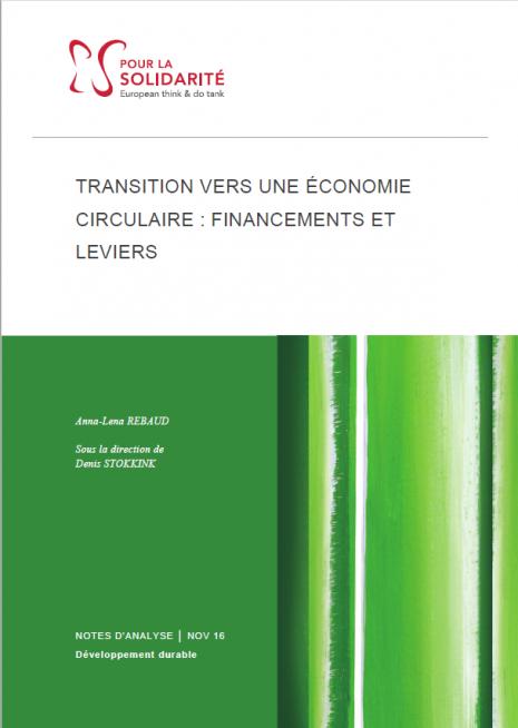 Cover financement économie circulaire